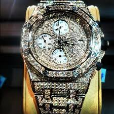 yo gotti all iced out bust down audemars