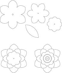 37bdd3cd5882f02166231228a062831a flower template 1 ��������� ����� pinterest flower, hands on ban template