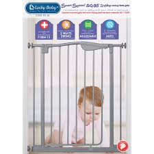 Lucky Baby Smart System Extra-Tall 2 Ways Swing Back Gate | Agape ...