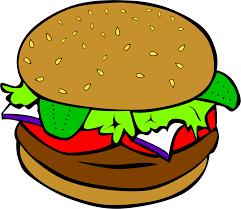 american food clipart. Beautiful Clipart Clip Freeuse Download American Food Clipart Fast Lunch Dinner Hamburger Inside Food Clipart