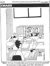 classroom management system click here for a cartoon about consequences