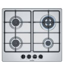 bosch 4 burners automatic stainless steel hob pgh6b5b60i
