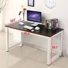 computer office table. Impressive Home Office Computer Desk Amazon.com: More Wood Pc Laptop Table