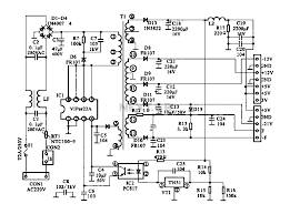Symbols marvelous switching and controlling circuit electronic