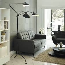 floor lighting for living room. Serge Mouille Style Three Arm Standing Floor Lamp Lamps Free Shipping Lighting For Living Room