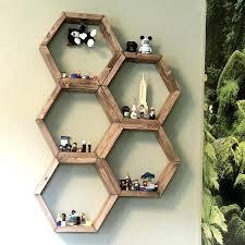 diy honeycomb shelves diy hexagon shelf popsicle sticks diy honeycomb shelves