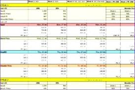 Workout Spreadsheet Excel Workout Template Excel Discopolis Club