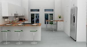 Huge Refrigerator Magnificent L Shaped Kitchen Designs With Modern White Kitchen