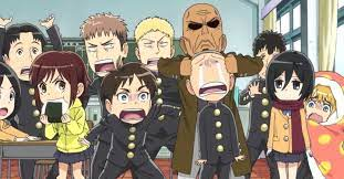 Sounds perfect wahhhh, i don't wanna. Attack On Titan Junior High Streaming Online