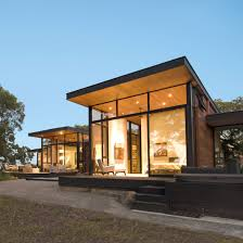 architecture. Oak Trees Inform Design Of Northern California Home By Field Architecture