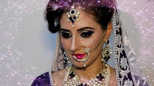 indian bridal makeup by monika goswami monika makeovers singapore