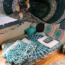 home accessory hippie lifestyle style in boho in fashion tapestry bedding bedroom boho decor