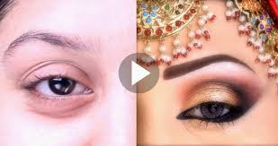 bridal party eye s makeup tutorial by kashee s beauty parlor