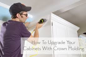 Adding Crown Molding To Kitchen Cabinets Simple Inspiration Ideas