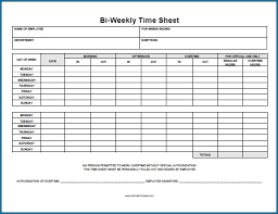 Excel Time Sheets Templates Biweeklyheet Template Excel With Lunch Google Sheets Pdf