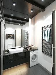 Schwarze Decke 42 Ideen Fa 1 4 R Kleine Bader Und Badezimmer Bilder