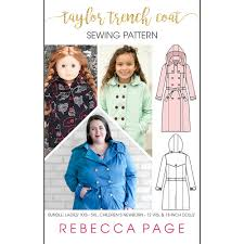 bundle the taylor trench a trench coat sewing pattern