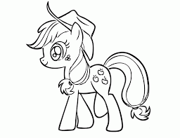 Small Picture Applejack Coloring Page Coloring Home