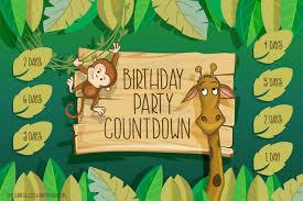 Birthday Party Countdown Printable Free Printable