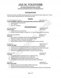 Peace Corps Resume Classy Resume Samples UVA Career Center