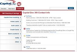 Capital One Bank Customer Service Capital One 360 Review Feedback Discussion 6 Posts