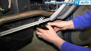 how to install replace heater ac blower motor 1996 99 chevy tahoe HVAC Electrical Wiring Diagrams at K1500 Tahoe Hvac Wiring Diagram