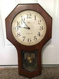 elgin wall clock history battery type 31 day elgin wall clock
