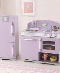Retro Play Kitchen Set Kidkraft Lavender Stove Refrigerator Retro Kitchen Set Zulily
