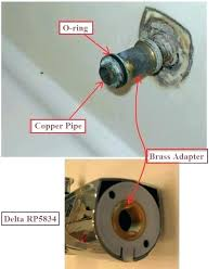 how to fix a leaky delta bathtub faucet