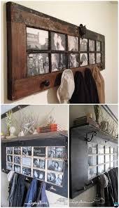diy french door coat rack repurpose old door into french door coat rack instruction homedecor