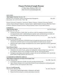 Data Quality Analyst Sample Resume