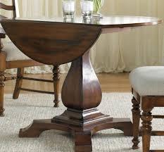 Hooker Furniture Dining Room Round Drop Leaf Pedestal Table 366 75 218