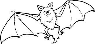 Bat Coloring Pages Vampire Free Printable Bats Page Cute Halloween