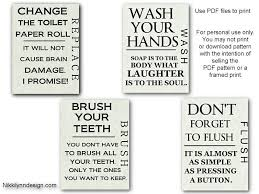 Free Printable Bathroom Art New Free Bathroom PrintablesI Finally Found Something To Put In My