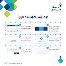 حساب المواطن : إضافة التابعين في 5 خطوات | صحيفة المواطن الإلكترونية