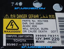 denso orginal d4s and d4r toyota prius xenon slim oem hid ballast this listing is 1x one ballast if you want more add amount in the quantity section