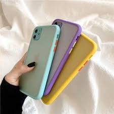 Mint Hybrid Simple Matte Bumper Phone Case For iPhone 11 ... - Vova