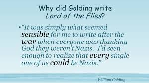 lord of the flies by william golding the author william golding  why did golding write lord of the flies