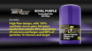 Royal Purple Extended Life Oil Filter Cross Reference Fram Ph8a Ph2815 Ph3569 Hp1