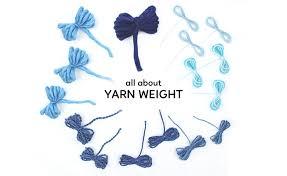 Yarn Chart Yarn Weight Chart Sheep And Stitch