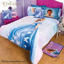 CINDERELLA DISNEY MOVIE Girl's Bedroom Bedding Comforter Sheet Set Gift T/F/ Q- ...