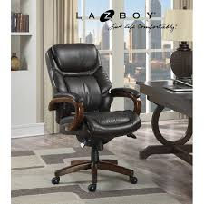 la z boy bradley leather executive office chair awesome 55 la z boy big and tall