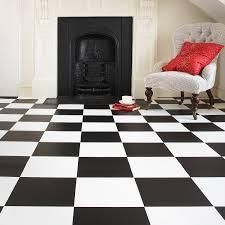 Black And White Flooring Tile Laying Pattern Black White Floor Tiles Zampco