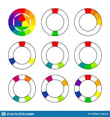 Color Wheel Chart Combinations Color Schemes And Harmonies Color Wheel Spectrum Scheme