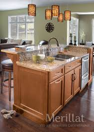 Merillat Kitchen Cabinets Merillat Classicr Ralston Maple Hazelnut With Java Glaze