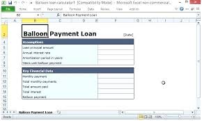 Balloon Payment Loan Home Loan Calculator Spreadsheet Home Equity Loan Calculator For