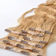 Pu Clip In Hair Extensions Factory 100 High Quality Virgin