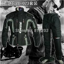 new duhan d 023 men s motorcycle riding suit racing jacket racing pants suit with removable liner