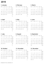 printable 6 month calendar 2019 free printable calendars and planners 2019 2020 and 2021