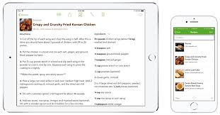 Recipe Writer App The Best Recipe Manager For Iphone Ipad And Mac The